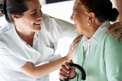 Nurse Helping Older Patient